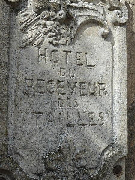 Photo du Monument Historique Hôtel des Tailles situé à Mortagne-au-Perche