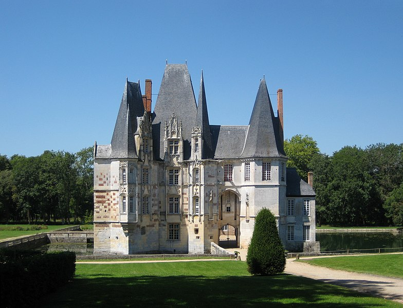 Photo du Monument Historique Château d'O situé à Mortrée