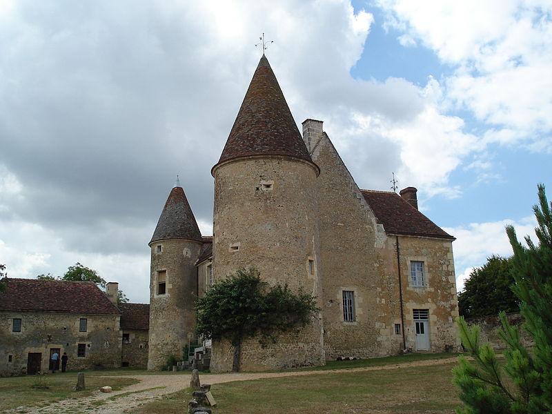 Photo du Monument Historique Manoir de Lormarin situé à Nocé