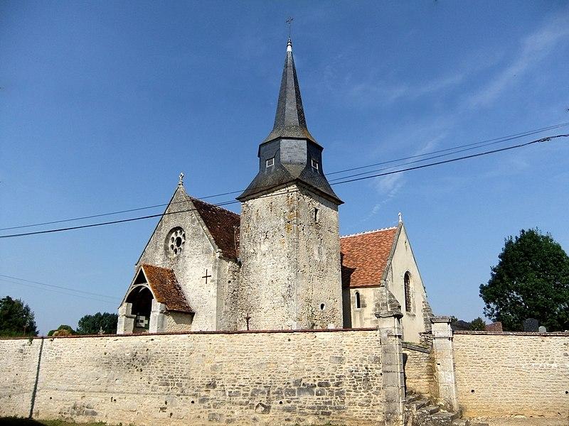 Photo du Monument Historique Eglise de Cuy situé à Occagnes