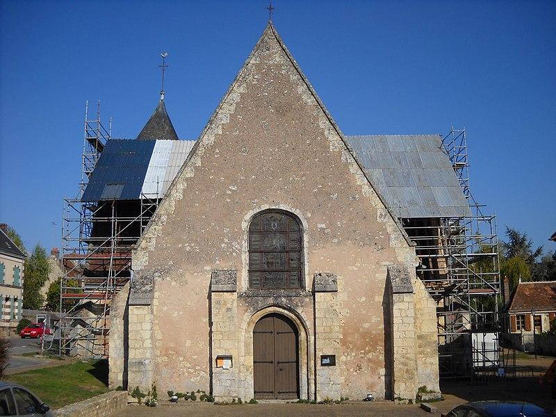 Photo du Monument Historique Eglise Saint-Germain situé à Préaux-du-Perche