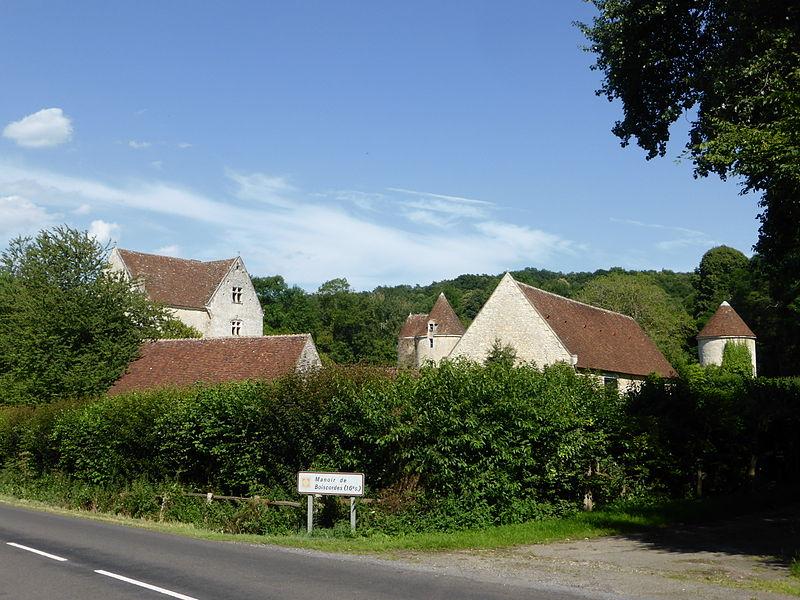Photo du Monument Historique Manoir de Boiscorde situé à Rémalard