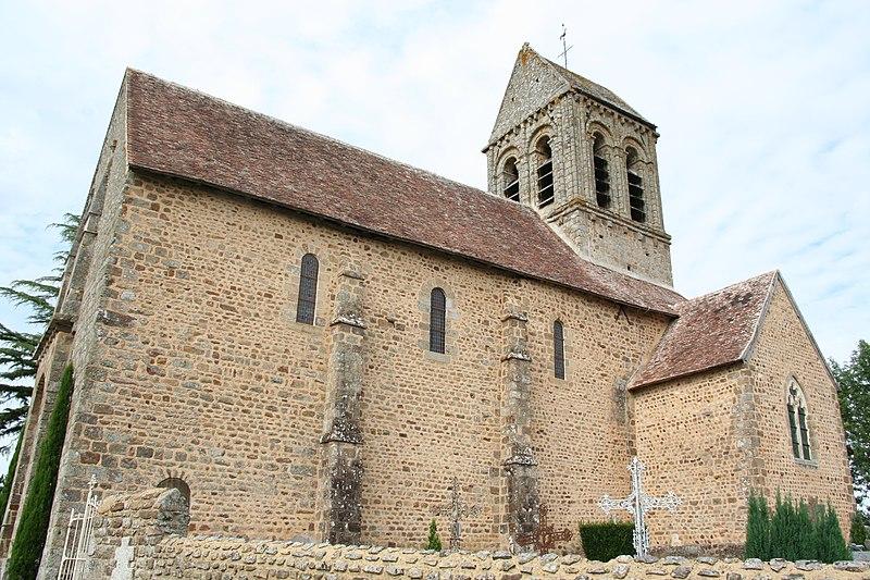 Photo du Monument Historique Eglise situé à Saint-Céneri-le-Gérei