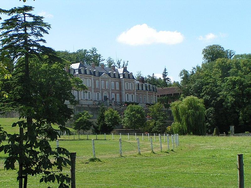 Photo du Monument Historique Domaine du château de Sassy situé à Saint-Christophe-le-Jajolet