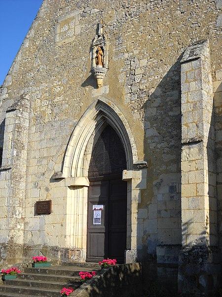 Photo du Monument Historique Chapelle de Clémencé situé à Saint-Cyr-la-Rosière