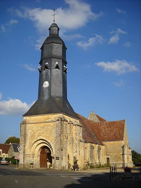 Photo du Monument Historique Eglise Saint-Cyr et Sainte-Julitte situé à Saint-Cyr-la-Rosière