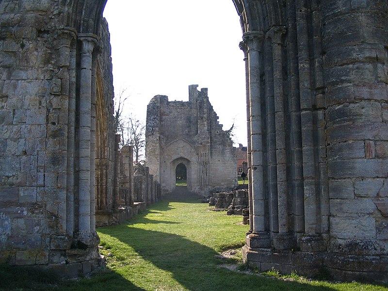Photo du Monument Historique Ancienne abbaye situé à Saint-Evroult-Notre-Dame-du-Bois