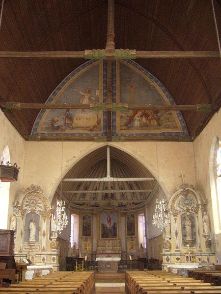 Photo du Monument Historique Eglise Saint-Germain situé à Saint-Germain-de-la-Coudre