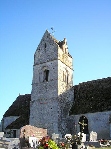 Photo du Monument Historique Eglise situé à Saint-Lambert-sur-Dive