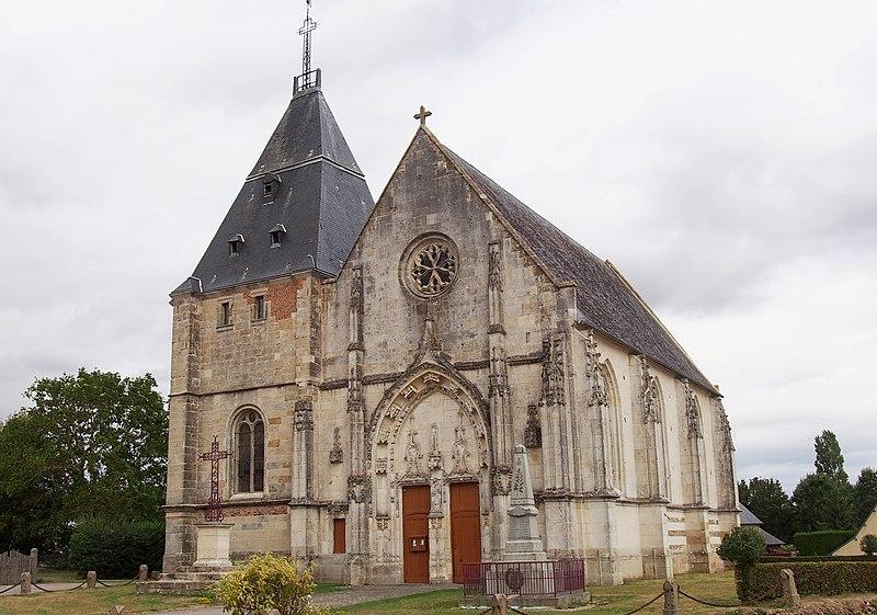 Photo du Monument Historique Eglise situé à Saint-Symphorien-des-Bruyères