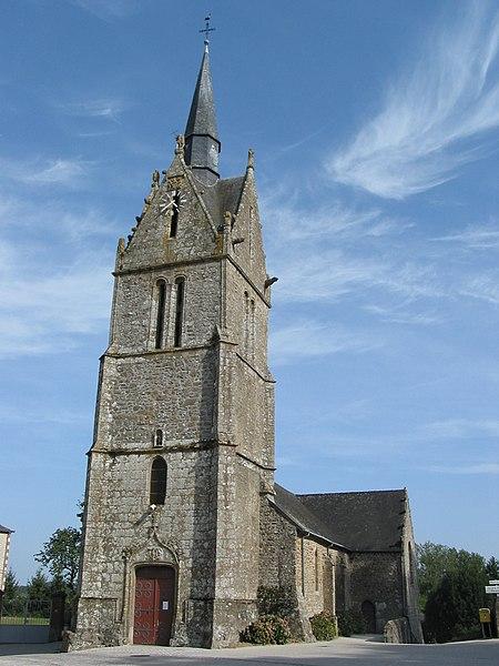 Photo du Monument Historique Eglise Saint-Aignan situé à Sept-Forges