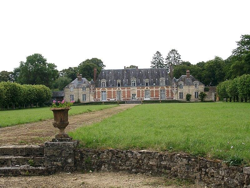 Photo du Monument Historique Château du Tertre (également sur commune de Saint-Martin-du-Vieux-Bellême) situé à Sérigny