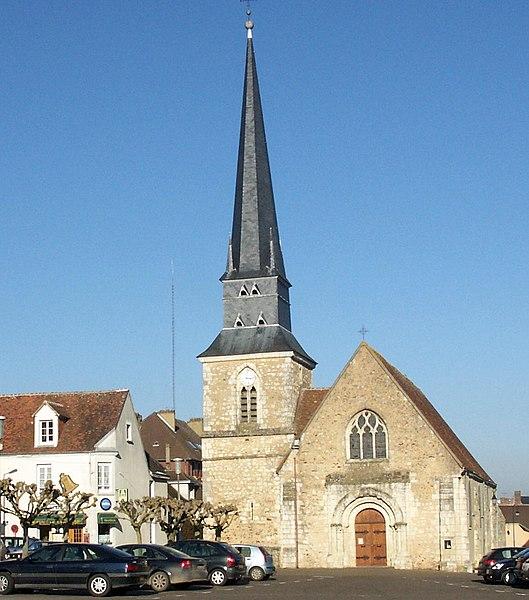 Photo du Monument Historique Eglise situé à Le Theil