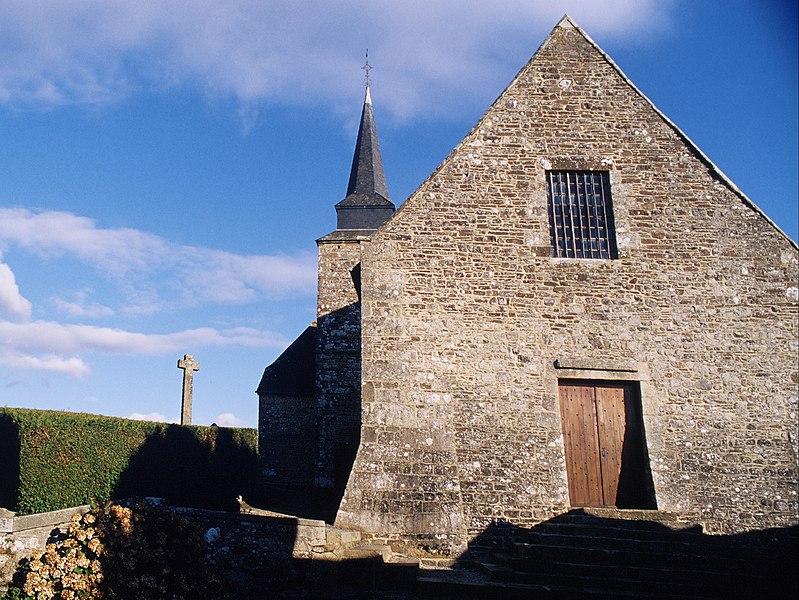 Photo du Monument Historique Eglise des Montiers situé à Tinchebray