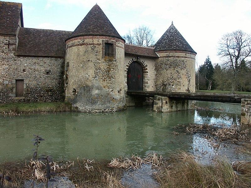 Photo du Monument Historique Château situé à La Ventrouze