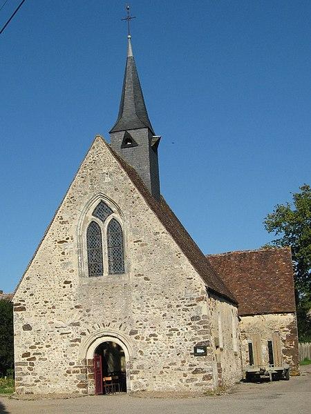 Photo du Monument Historique Eglise Sainte-Madeleine situé à La Ventrouze