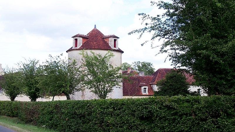 Photo du Monument Historique Château situé à Villebadin