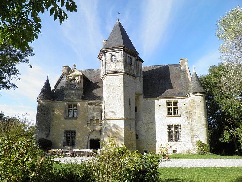 Photo du Monument Historique Manoir d'Argentelles situé à Villebadin