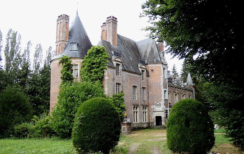 Photo du Monument Historique Domaine du Fontenil situé à Saint-Sulpice-sur-Risle