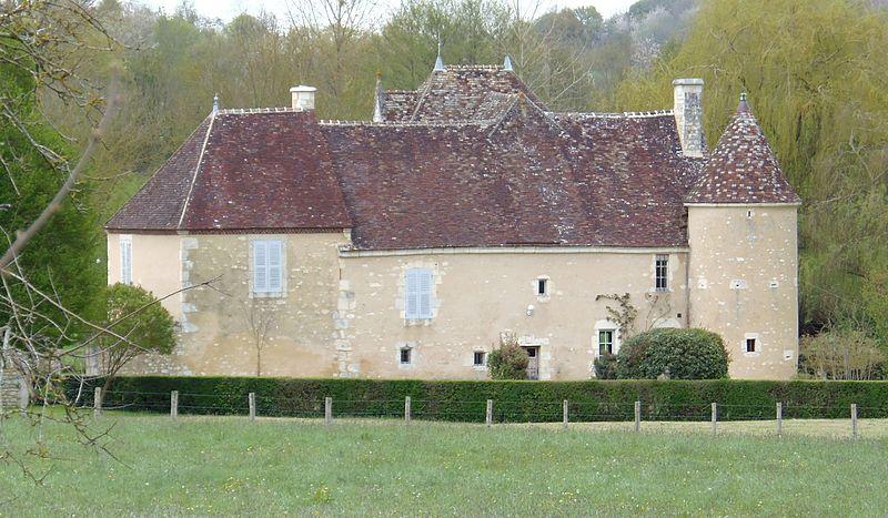 Photo du Monument Historique Manoir de Malaise situé à Saint-Hilaire-sur-Erre