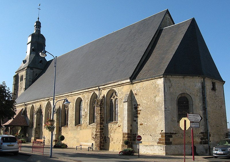 Photo du Monument Historique Eglise situé à Tourouvre