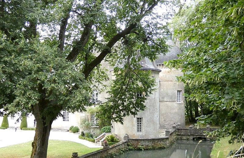 Photo du Monument Historique Château de Cisai situé à Cisai-Saint-Aubin