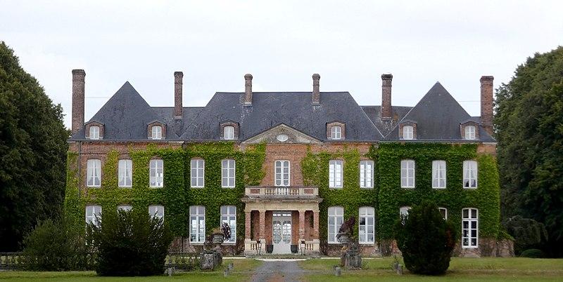 Photo du Monument Historique Domaine du château des Lettiers (également sur commune de Cisai-Saint-Aubin) situé à La Trinité-des-Laitiers