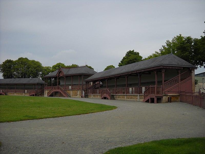 Photo du Monument Historique Hippodrome situé à Mortagne-au-Perche
