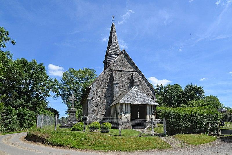 Photo du Monument Historique Eglise du Douet-Arthus situé à Heugon