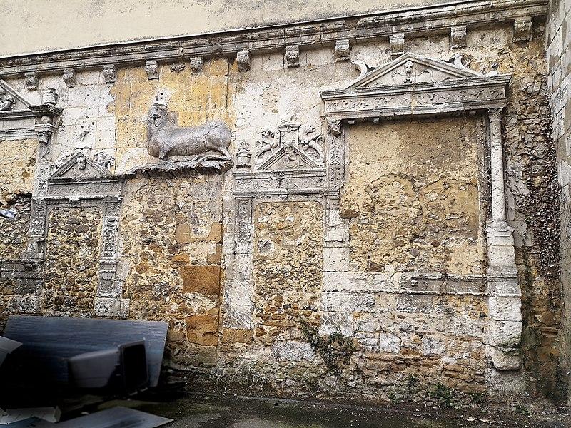 Photo du Monument Historique Ancien hôpital Saint-Nicolas situé à Mortagne-au-Perche