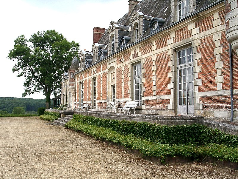 Photo du Monument Historique Château du Tertre situé à Saint-Martin-du-Vieux-Bellême