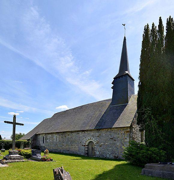Photo du Monument Historique Eglise Saint-Cyr et Sainte-Julitte de Saint-Cyr-d'Estrancourt situé à Avernes-Saint-Gourgon