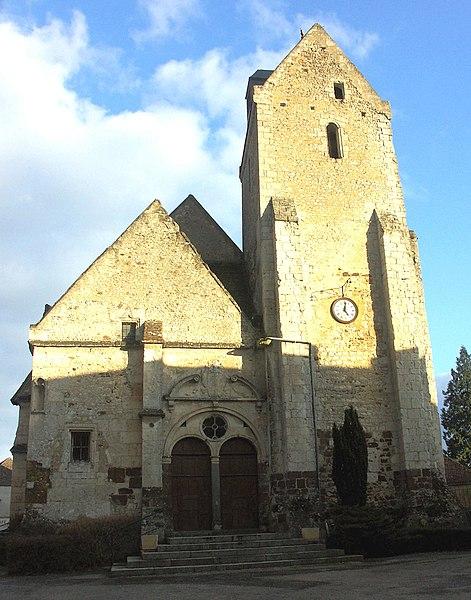 Photo du Monument Historique Eglise paroissiale Saint-Médard situé à Saint-Mard-de-Réno