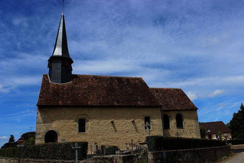 Photo du Monument Historique Eglise Saint-Germain situé à Cerisé