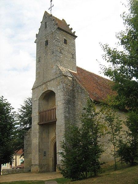 Photo du Monument Historique Eglise Saint-Martin situé à Gémages