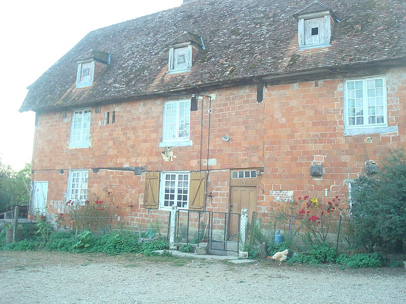 Photo du Monument Historique Ferme de la Coulonche situé à Le Renouard