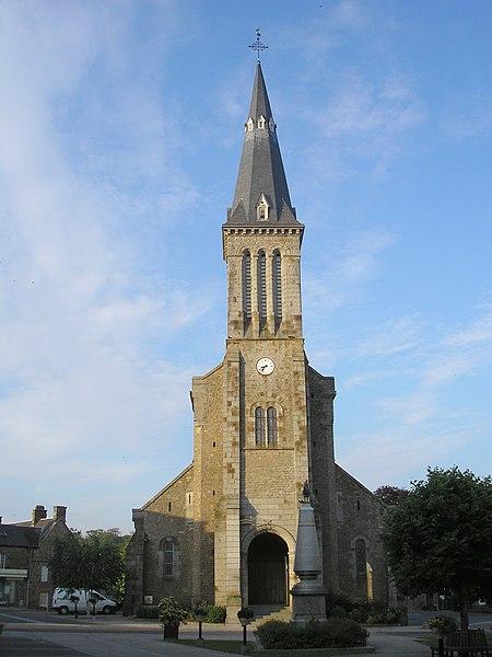 Photo du Monument Historique Eglise Saint-Vigor situé à Athis-de-l'Orne