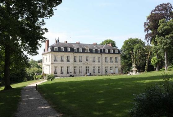 Photo du Monument Historique Domaine du château situé à Ménil-Hubert-en-Exmes