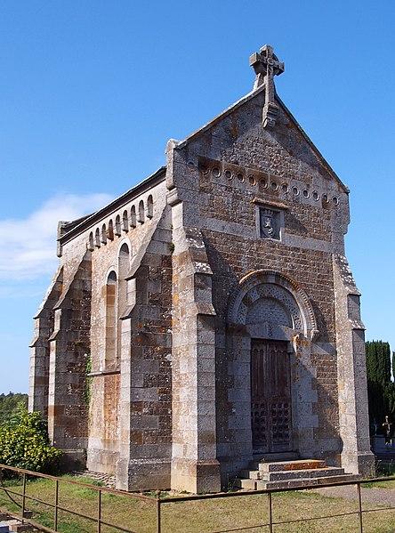 Photo du Monument Historique Chapelle funéraire des Berghes situé à Rânes