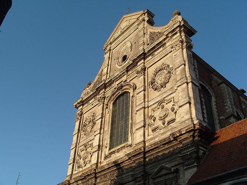 Photo du Monument Historique Eglise Saint-Jacques-le-Majeur et Saint-Ignace situé à Aire-sur-la-Lys