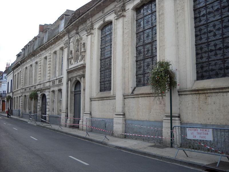 Photo du Monument Historique Hôpital-Hospice Saint-Jean situé à Aire-sur-la-Lys