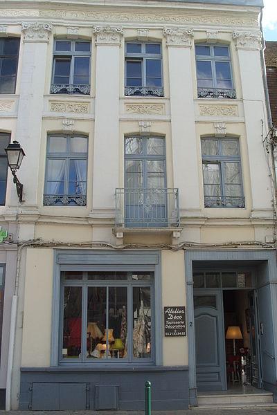 Photo du Monument Historique Immeuble situé à Aire-sur-la-Lys