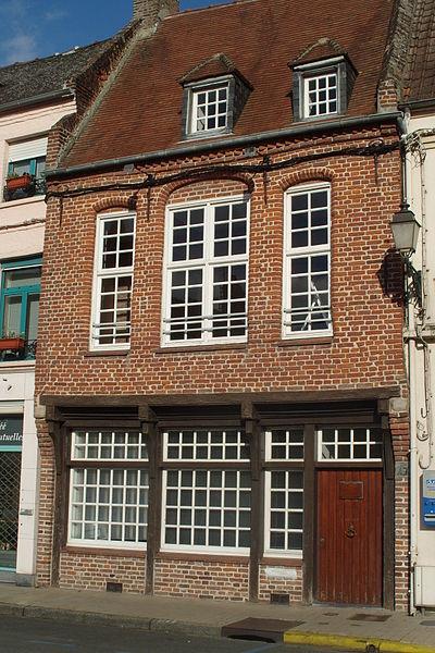 Photo du Monument Historique Maison situé à Aire-sur-la-Lys