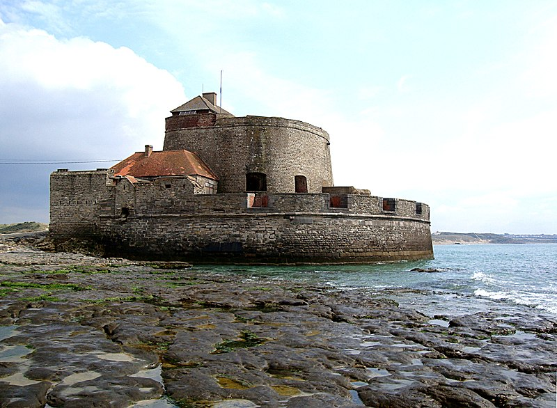 Photo du Monument Historique Fort Vauban dit Fort Mahon situé à Ambleteuse
