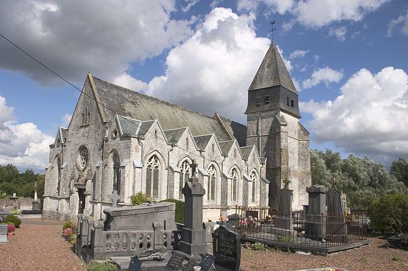 Photo du Monument Historique Eglise situé à Anvin