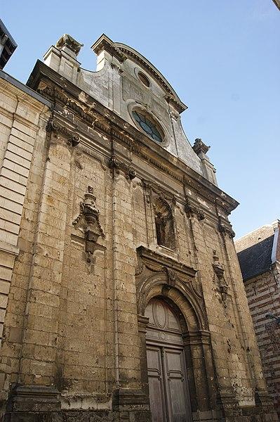 Photo du Monument Historique Chapelle des Chariottes situé à Arras