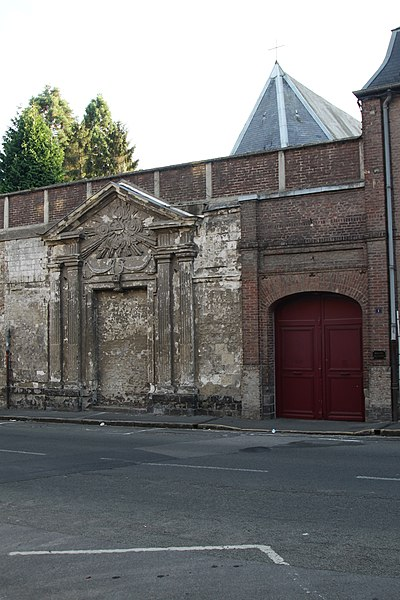 Photo du Monument Historique Couvent des Clarisses situé à Arras