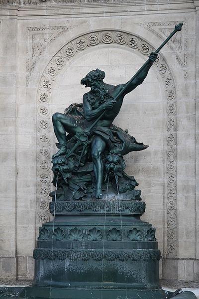 Photo du Monument Historique Fontaine du Pont-de-Cité ou fontaine Neptune situé à Arras