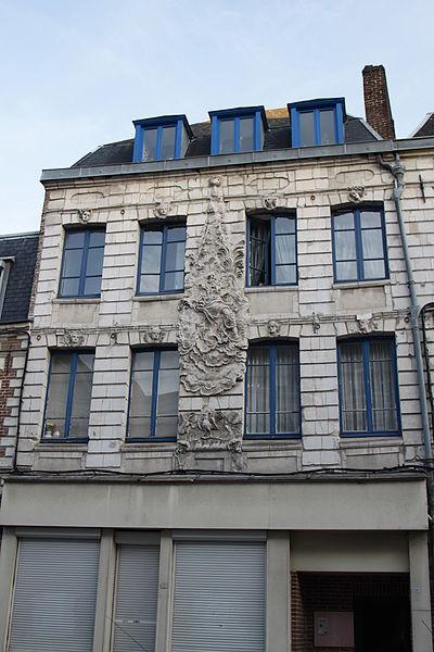 Photo du Monument Historique Maison à l'enseigne de la Renommée situé à Arras