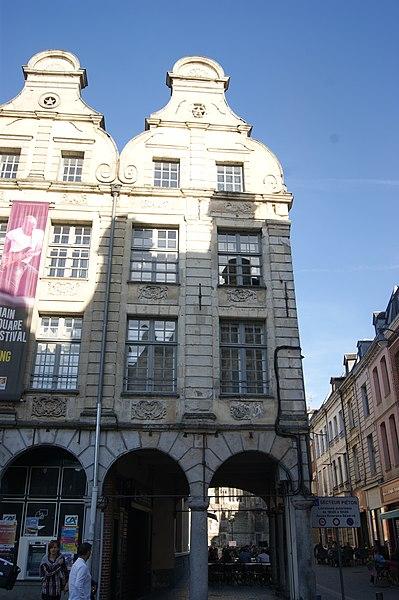 Photo du Monument Historique Immeuble situé à Arras